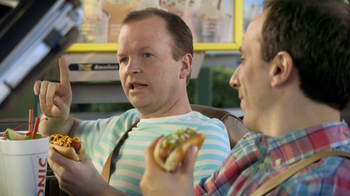 Sonic Drive-In TV Spot, 'National Hot Dog Day' - 1212 commercial airings