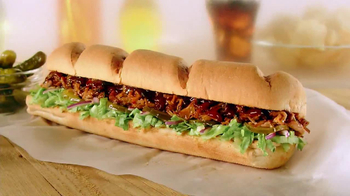 Subway Applewood Pulled Pork TV Spot, 'First' - Thumbnail 9