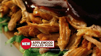 Subway Applewood Pulled Pork TV Spot, 'First' - Thumbnail 7