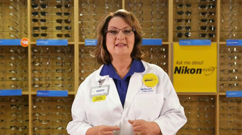 Walmart Vision Center TV Spot, 'Nikon Eyes'