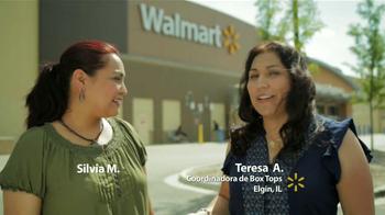 Walmart TV Spot, 'Silvia M.: Box Tops for Education' [Spanish] - Thumbnail 1