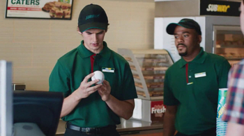 Subway TV Spot, 'Fly Ball' Featuring Mike Trout - Thumbnail 3
