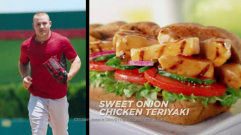 Subway TV Spot, 'Fly Ball' Featuring Mike Trout - Thumbnail 9