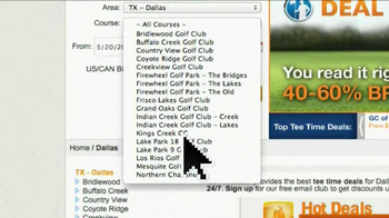 GolfNow.com TV Spot, 'Over 5000 Courses' - Thumbnail 9