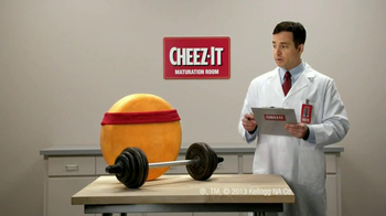 Cheez-It Big TV Spot \'Weights\'