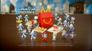 McDonald's Happy Meal TV Spot, 'The Smurfs 2' - Thumbnail 9