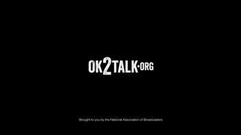 National Association of Broadcasters TV Spot 'OK2Talk.org' - Thumbnail 10