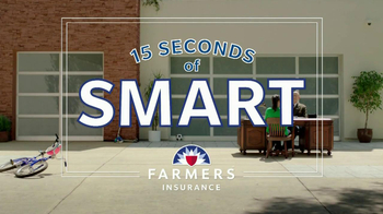 Farmers Insurance TV Spot, '15 Seconds of Smart: Protect' - 83 commercial airings