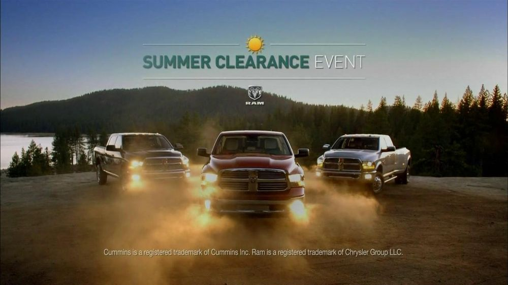 Ram Trucks Summer Clearance Event TV Commercial, 'Best in Class: Hard Work'