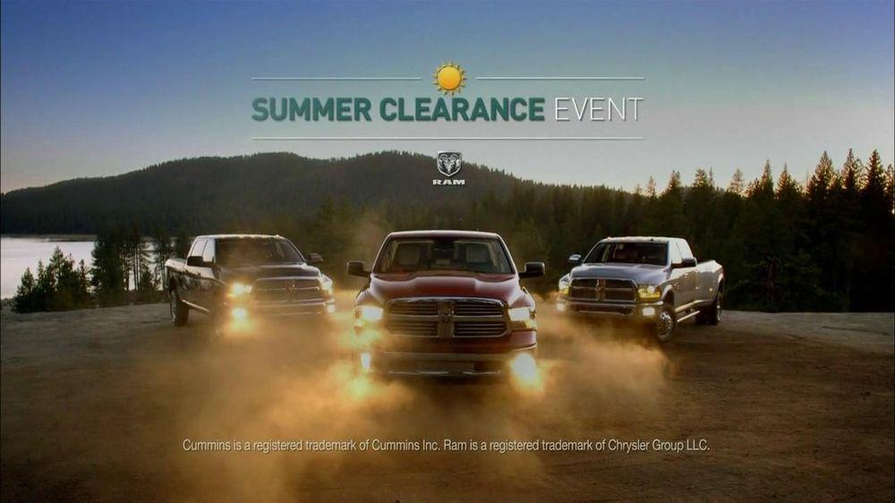 Ram Trucks Summer Clearance Event TV Commercial, 'Best in Class: Hard Work'
