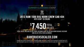 Ram Trucks Summer Clearance Event TV Spot, 'Best in Class: Hard Work' - Thumbnail 10