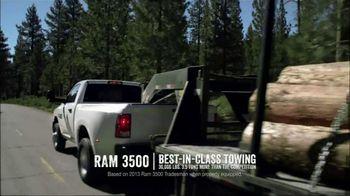 Ram Trucks Summer Clearance Event TV Spot, 'Best in Class: Hard Work' - Thumbnail 4