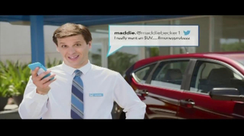 Honda Summer Clearance Event TV Spot, 'Maddie Becker Tweets' - Thumbnail 4