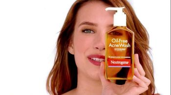 Neutrogena Oil-Free Acne Wash TV Spot Featuring Emma Roberts - 1233 commercial airings