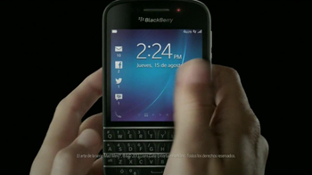 BlackBerry Q10 TV Spot, 'Es Tiempo' [Spanish]