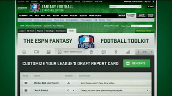 ESPN Fantasy Football TV Spot, 'Commissioner' Featuring Mike Ditka - Thumbnail 7
