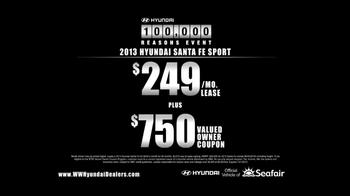 2013 Hyundai Santa Fe TV Spot, '10 Years: Family' - Thumbnail 9