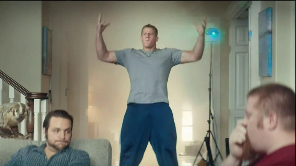 Yahoo! Fantasy Football TV Commercial, 'Entrance' Featuring J. J. Watt