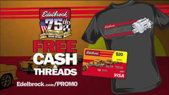 Edelbrock The End of Summer Carb Deal  TV Spot - Thumbnail 6