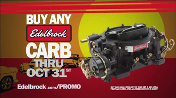 Edelbrock The End of Summer Carb Deal  TV Spot - Thumbnail 2