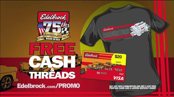 Edelbrock The End of Summer Carb Deal  TV Spot - Thumbnail 3