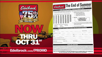 Edelbrock The End of Summer Carb Deal  TV Spot - Thumbnail 4