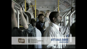 American InterContinental University  TV Spot, 'Busy Schedule' - Thumbnail 1