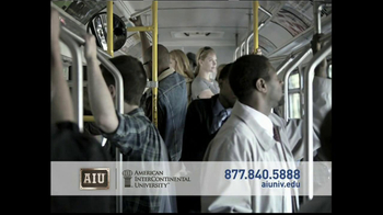 American InterContinental University  TV Spot, 'Busy Schedule' - Thumbnail 2