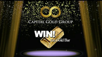Capital Gold Group TV Spot, 'One-ounce Gold Bar'