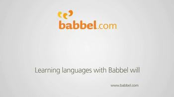 Babbel TV Spot - Thumbnail 6