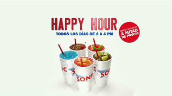 Sonic Drive-In Happy Hour TV Spot [Spanish] - Thumbnail 5