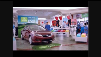 Macy's Honda Accord/Izod TV Spot - Thumbnail 2