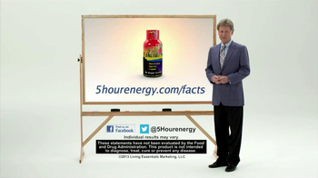 5 Hour Energy TV Spot, 'Combination of Coffee and Vitamins' - Thumbnail 9