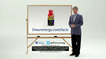 5 Hour Energy TV Spot, 'Combination of Coffee and Vitamins' - Thumbnail 6
