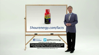5 Hour Energy TV Spot, 'Combination of Coffee and Vitamins' - Thumbnail 7