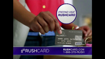 RushCard Pre-Paid Visa TV Spot