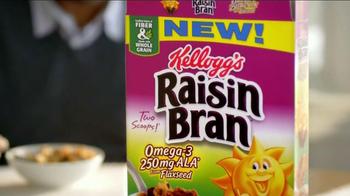 Kellogg's Raisin Bran with Flax Seed TV Spot - Thumbnail 4