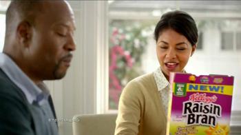 Kellogg's Raisin Bran with Flax Seed TV Spot - Thumbnail 6