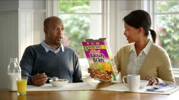 Kellogg's Raisin Bran with Flax Seed TV Spot - Thumbnail 8