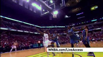 WNBA Live Access TV Spot