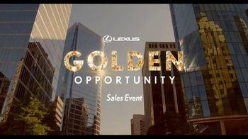 Lexus Golden Opportunities Sales Event TV Spot, 'Hybrids'