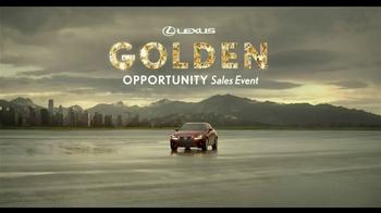 Lexus Performance Vehicles TV Spot 'Golden Opportunities Sales Event'  - Thumbnail 1