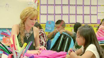 JCPenney VH1 Adopt a Classroom TV Spot Featuring Bella Thorne