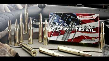 Hornady American Whitetail Ammunition TV Spot