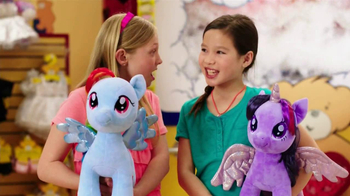 Build-A-Bear Workshop TV Spot, 'Twilight Sparkle and Rainbow Dash'