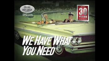 OPGI Original Parts Group Inc TV Spot - Thumbnail 8