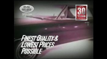 OPGI Original Parts Group Inc TV Spot - Thumbnail 5