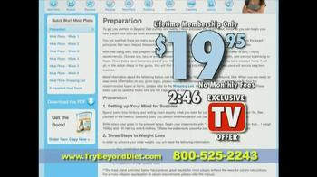 Beyond Diet TV Spot - Thumbnail 10