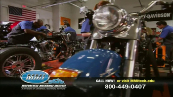 Motorcycle Mechanics Institute TV Spot, 'Serious About Bikes' - Thumbnail 2
