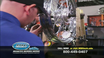 Motorcycle Mechanics Institute TV Spot, 'Serious About Bikes' - Thumbnail 7